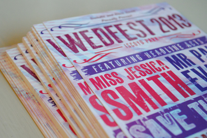 wedfest wedding save the dates