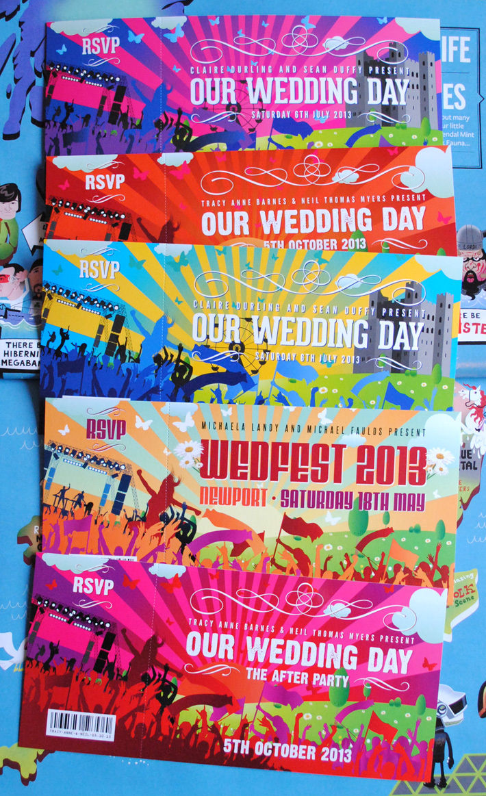 Concert Ticket Wedding Invites  Make Concert Tickets