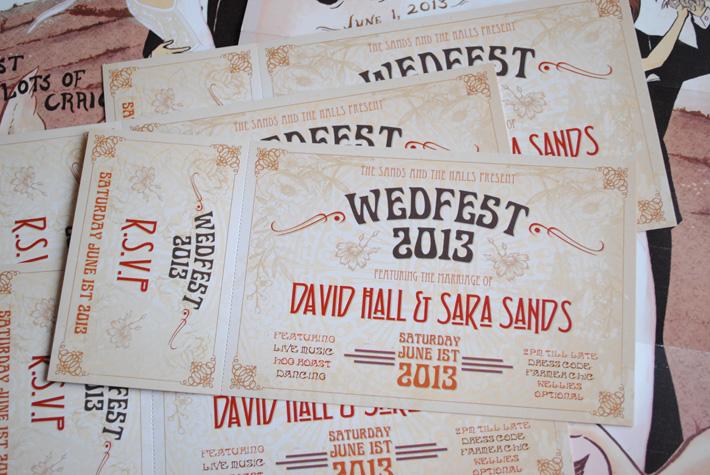 art deco / art nouveau wedding invitations | wedfest, Wedding invitations