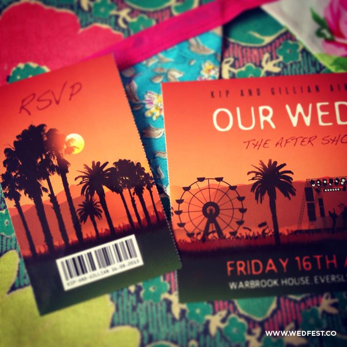 summer wedding invites