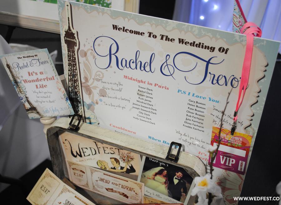 vintage shabby chic wedding stationery