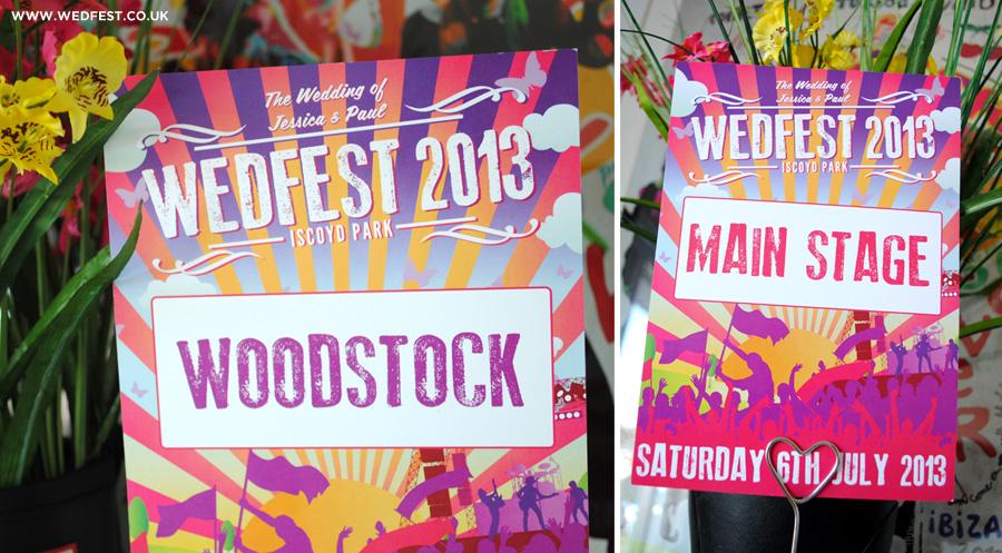 music festival wedding ideas