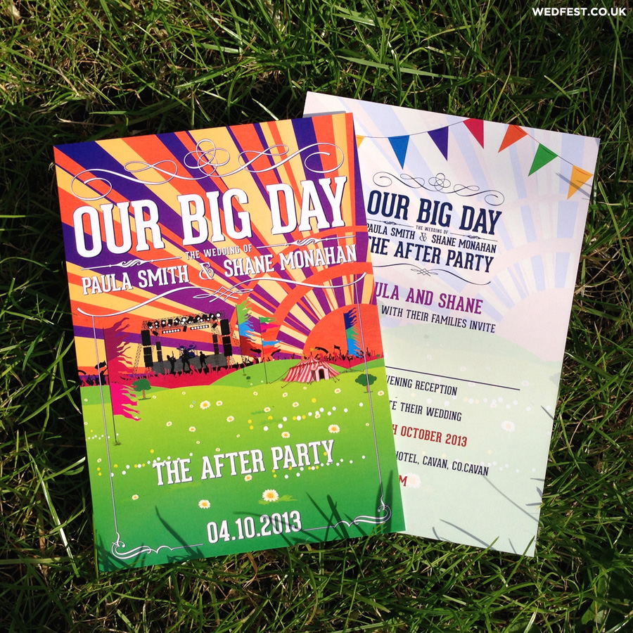 our big day wedding invitations wedfest