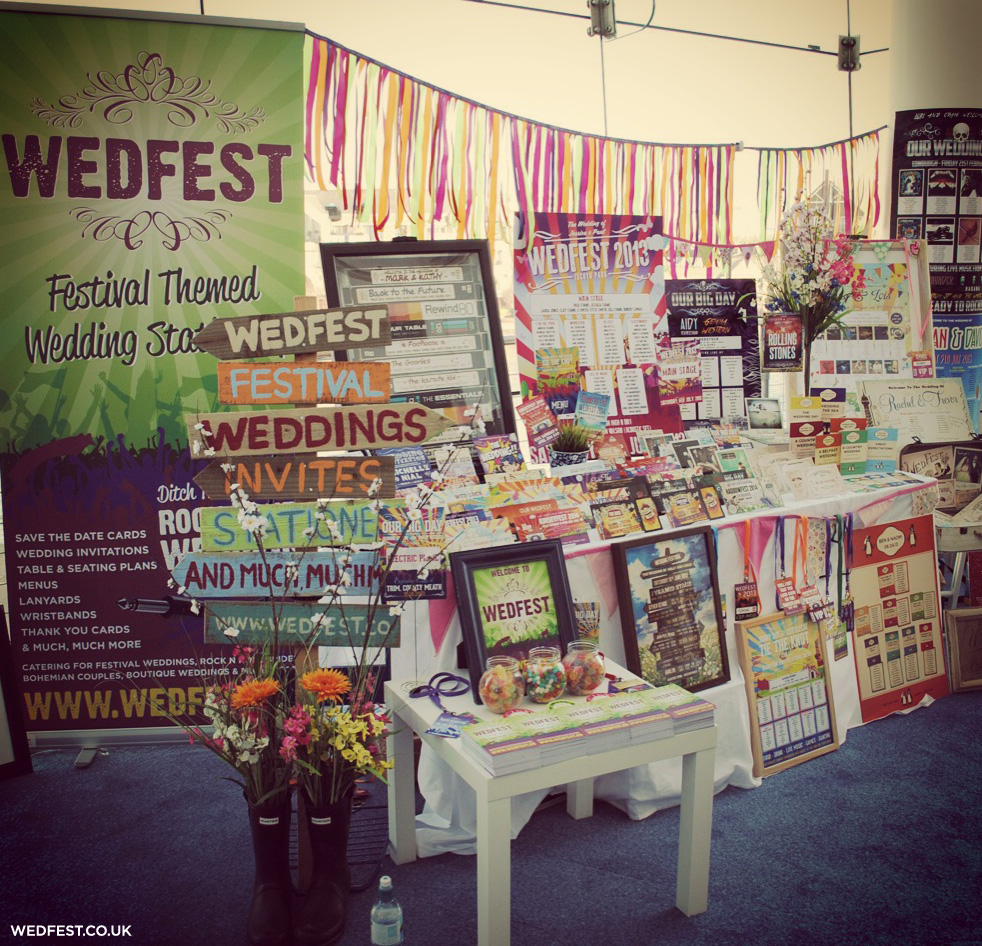 quirky weddings alternative wedding fair wedfest
