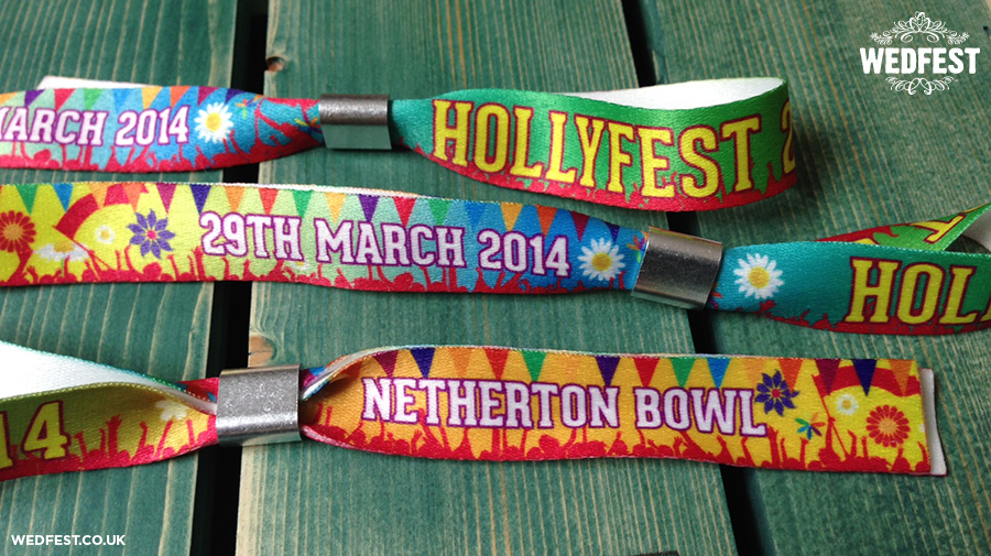 birthday party festival wristbands