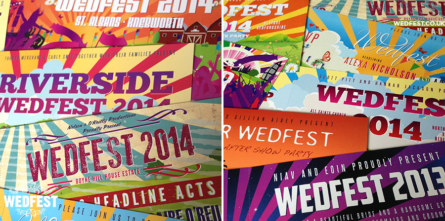 wedfest wedding invitations