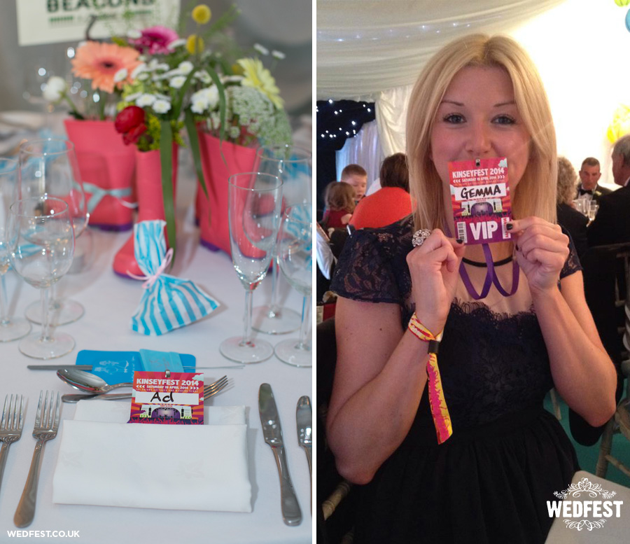 Festival Wedding Name Place Card Vip Lanyards