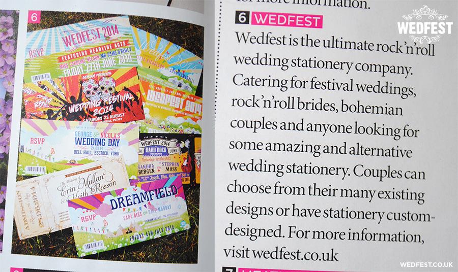 wedfest brides magazine
