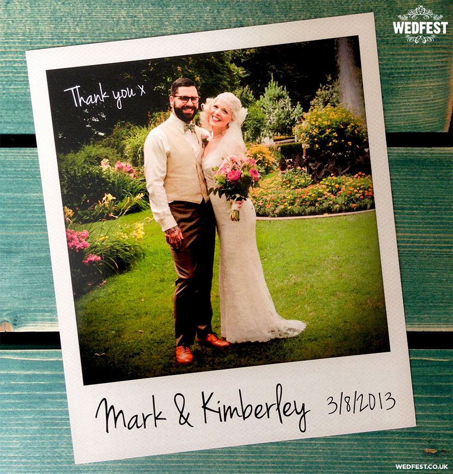 Using your Instagram Photos for Wedding Thank You Cards – Unique Wedding Thank You Card Ideas