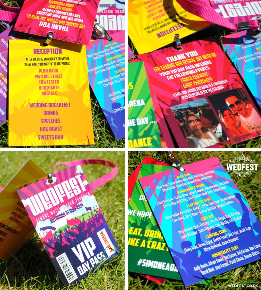 wedding festival programme