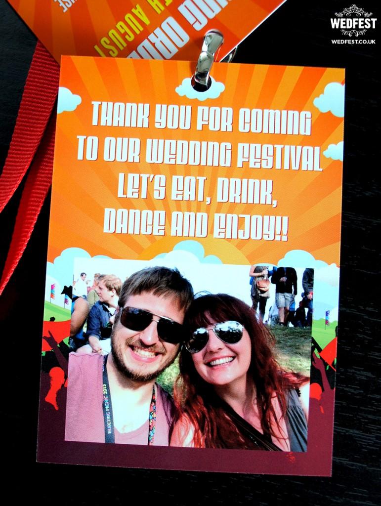 wedfest festival wedding ideas vip lanyards