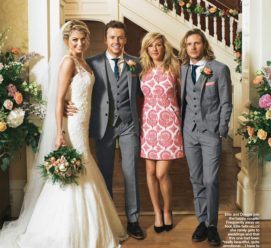 hello magazine danny jones georgia horsley wedding