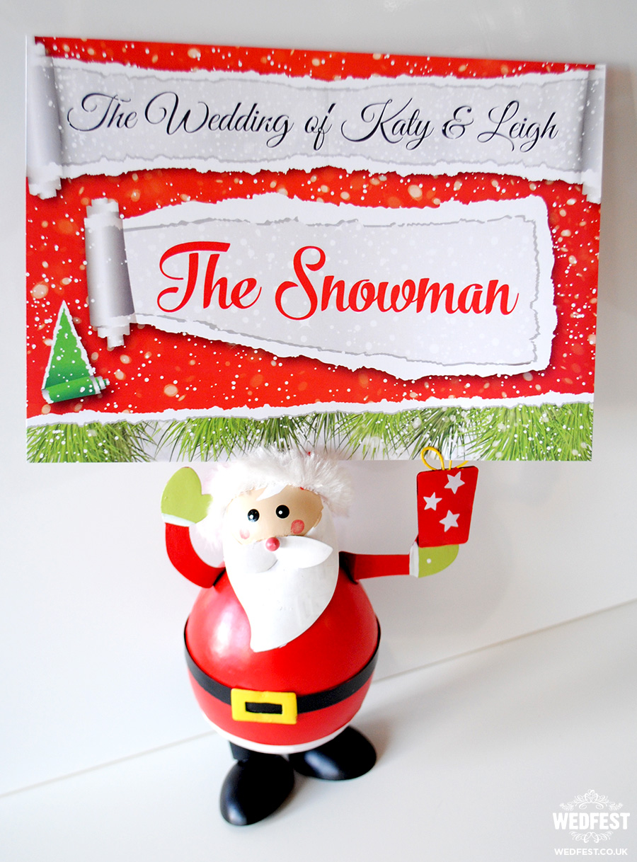 christmas wedding stationery