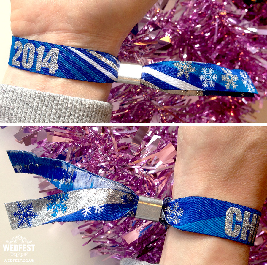 christmas winter party festival wristbands