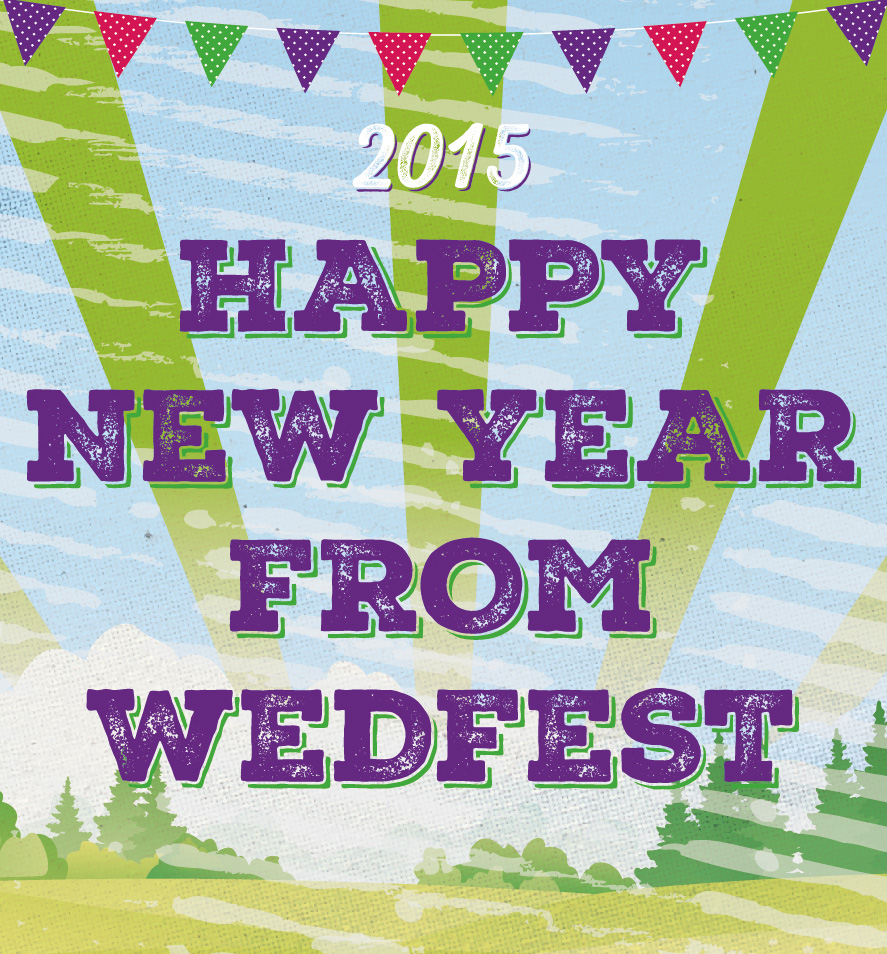 happy new year from wedfest wedding stationery