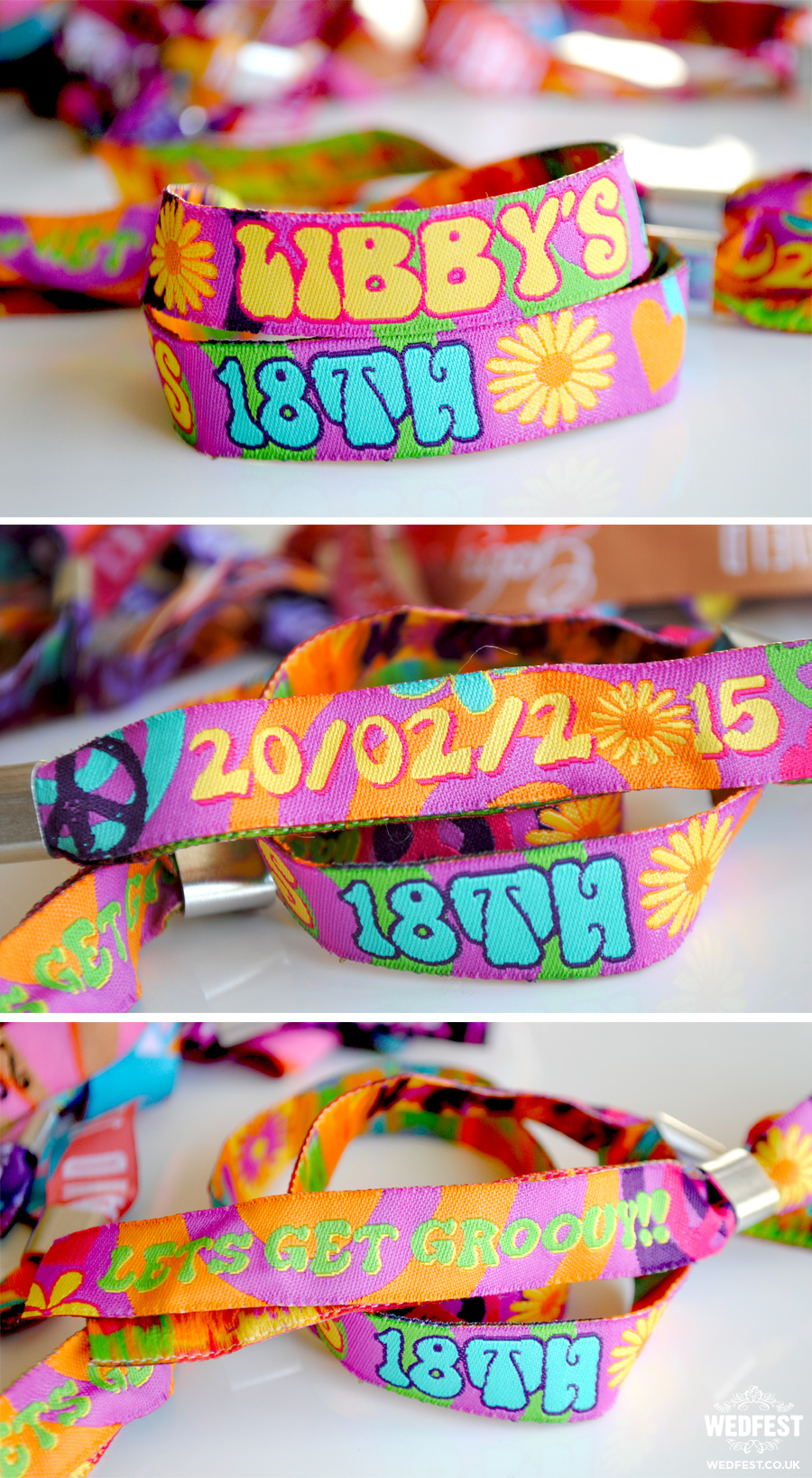 Custom Party Wristbands