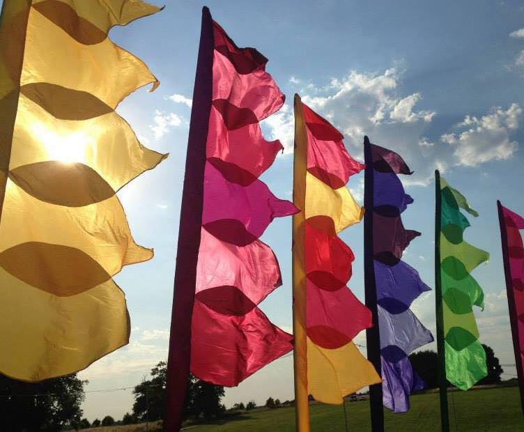 festival Wedding Flags