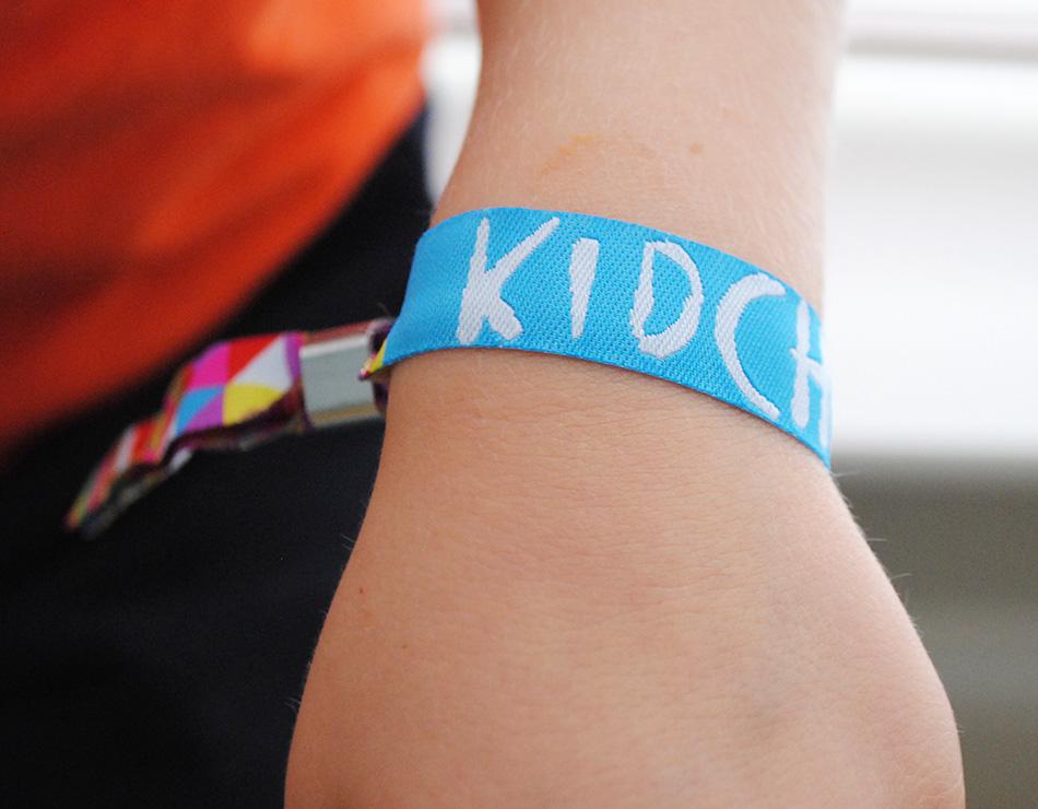kidchella wristbands