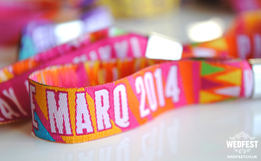 Personalised Party Wristbands