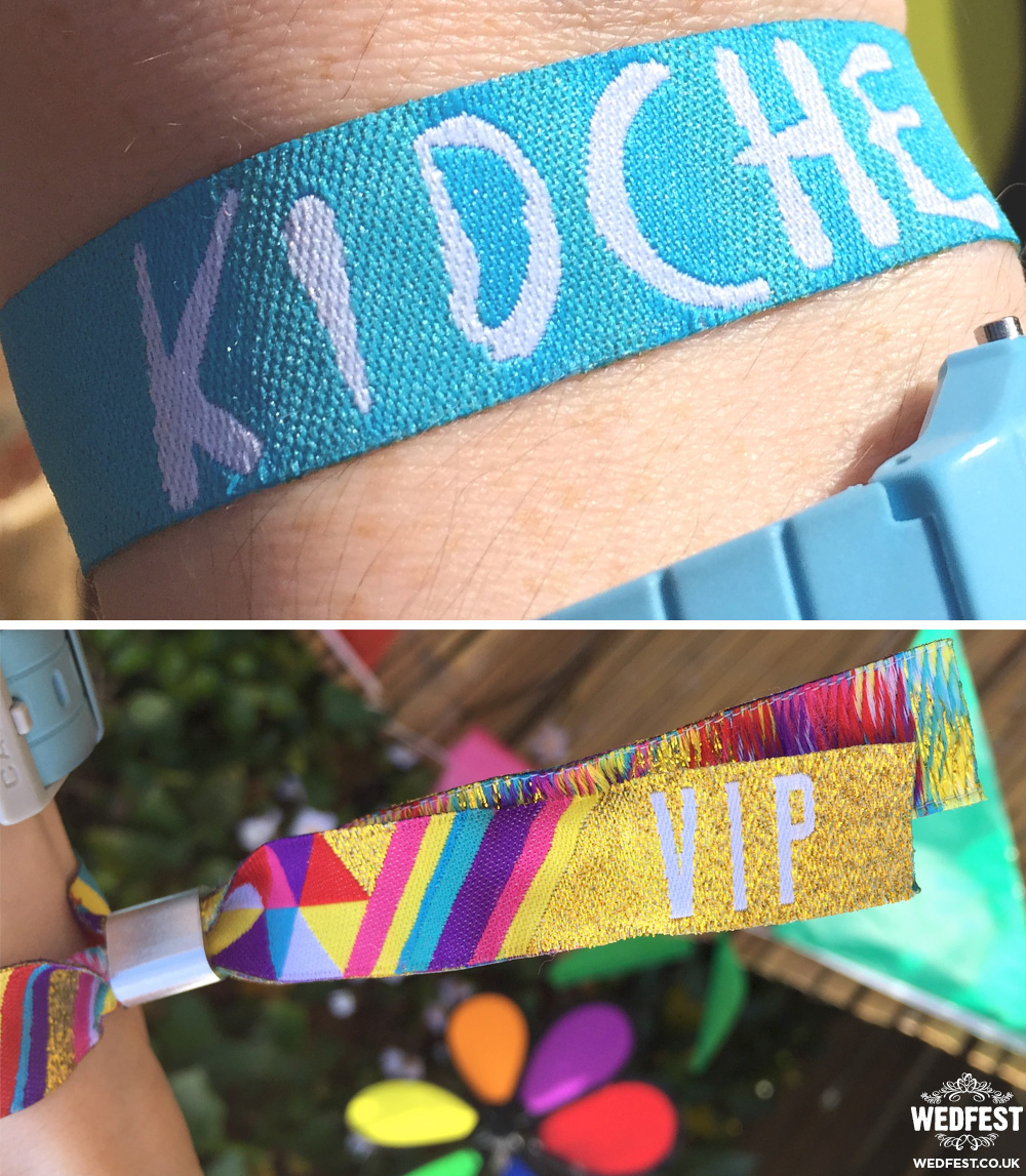 kidchella festival party wristbands