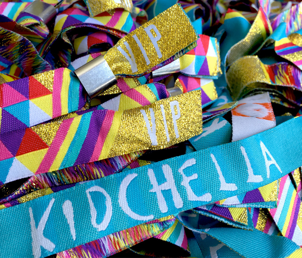 kidchella wristbands