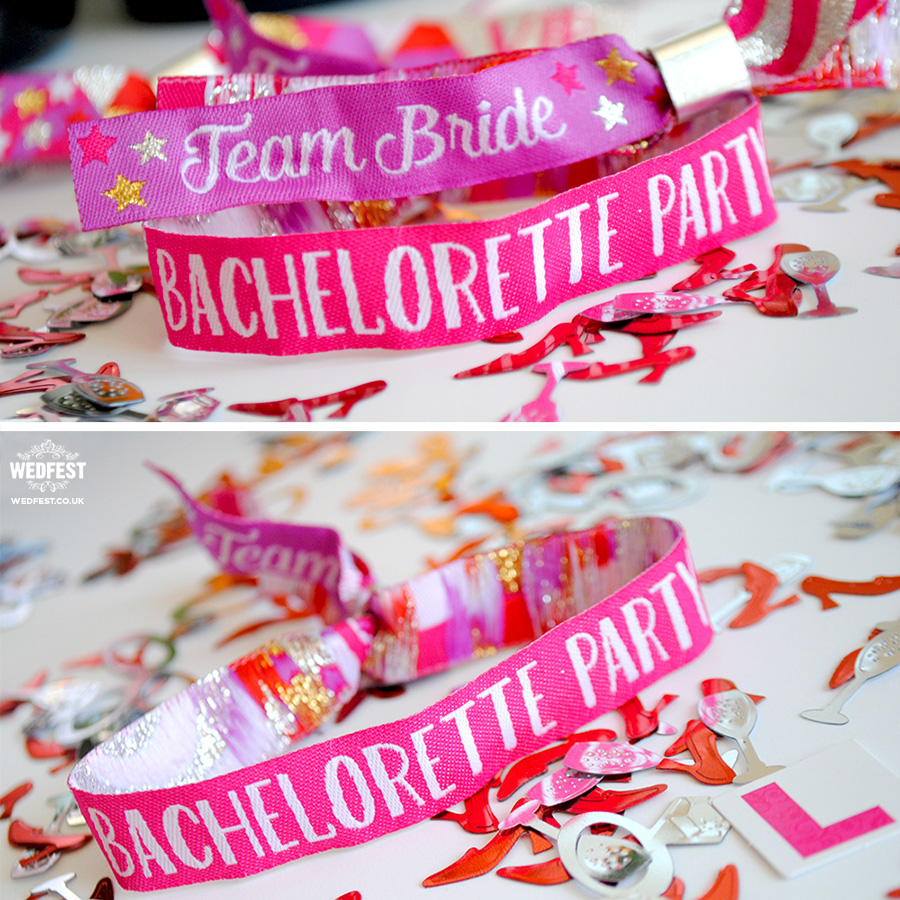 team bride wristbands