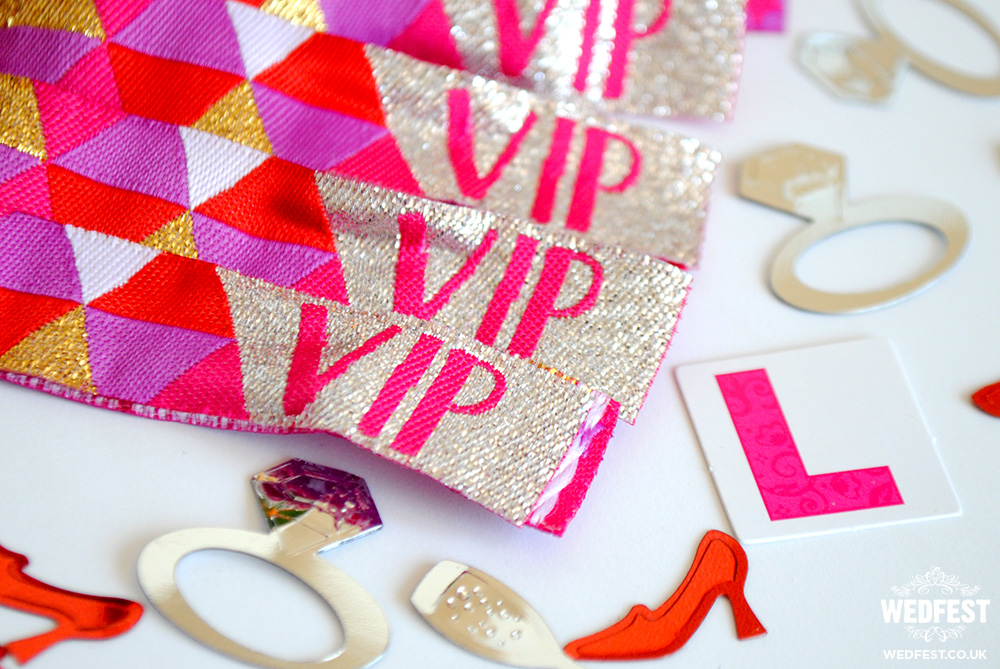 vip bachelorette wristbands