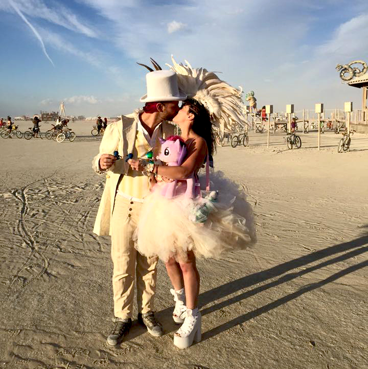burning man married couple
