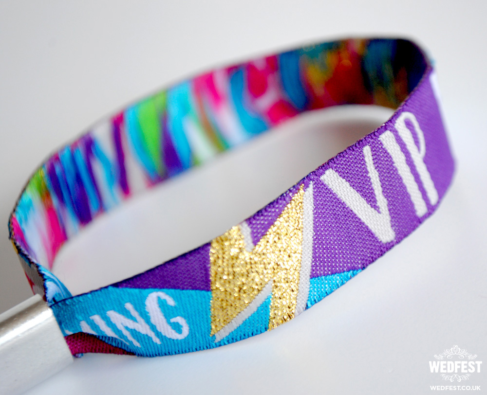 wedfest vip wedding wristbands
