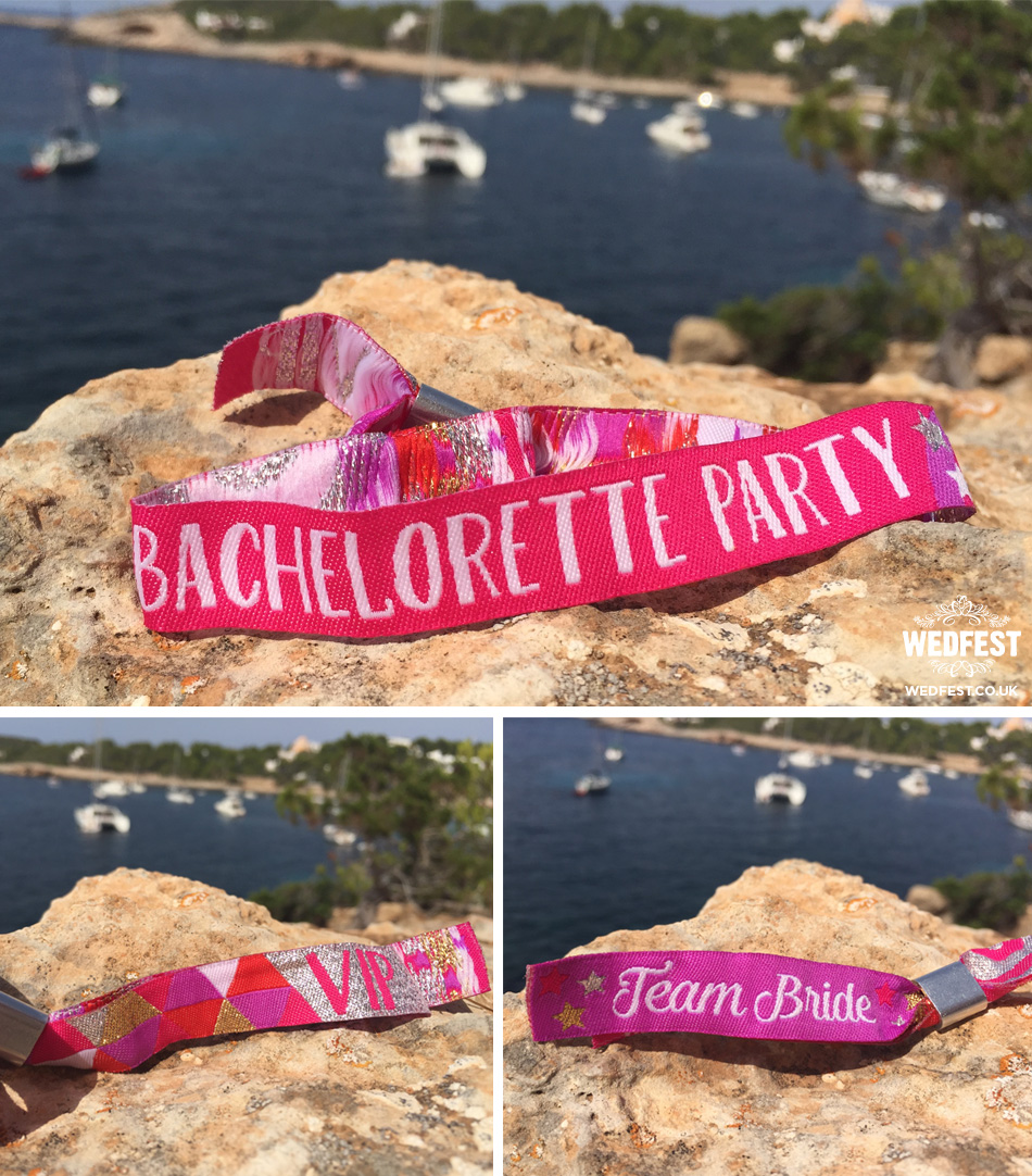 bachelorette team bride wristbands