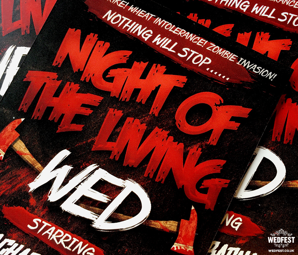 night of the living wed
