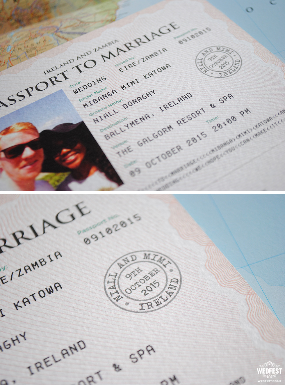 passport to marriage invites