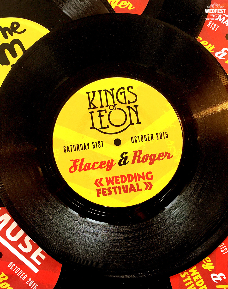 personalised wedding vinyl records