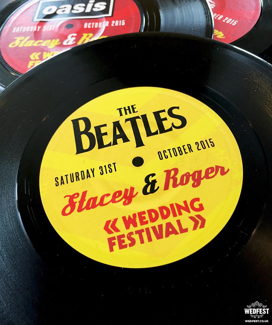 Vinyl Record Wedding Table Names Wedfest