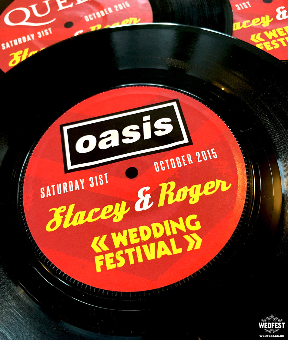 wedding festival vinyl record