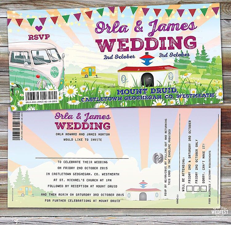 mountdruid ireland castletown westmeath wedding invitations from wedfestco wedfest irishbridehellip
