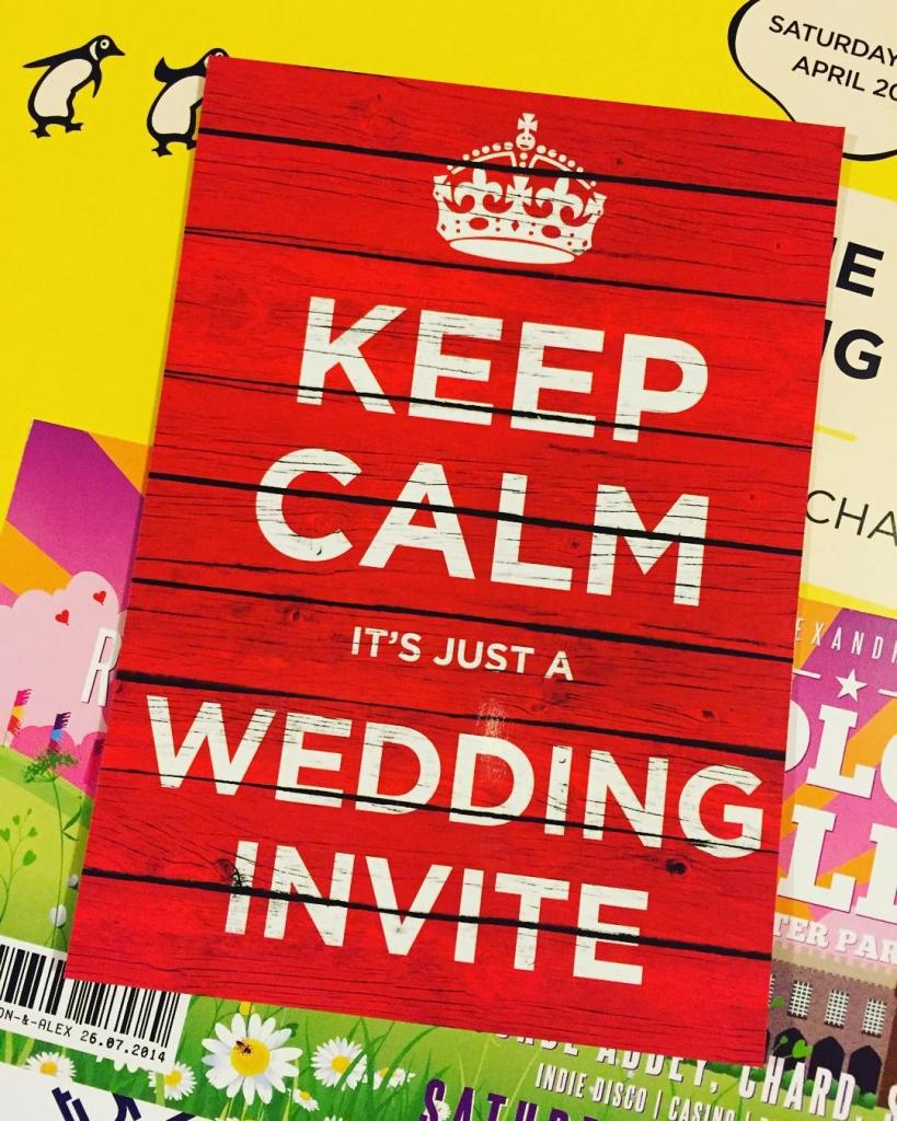 keepcalm weddinginvites from wedfestco wedfest weddinginvitation weddinginvitations keepcalmandcarryon festivalbride festivalbrideshellip