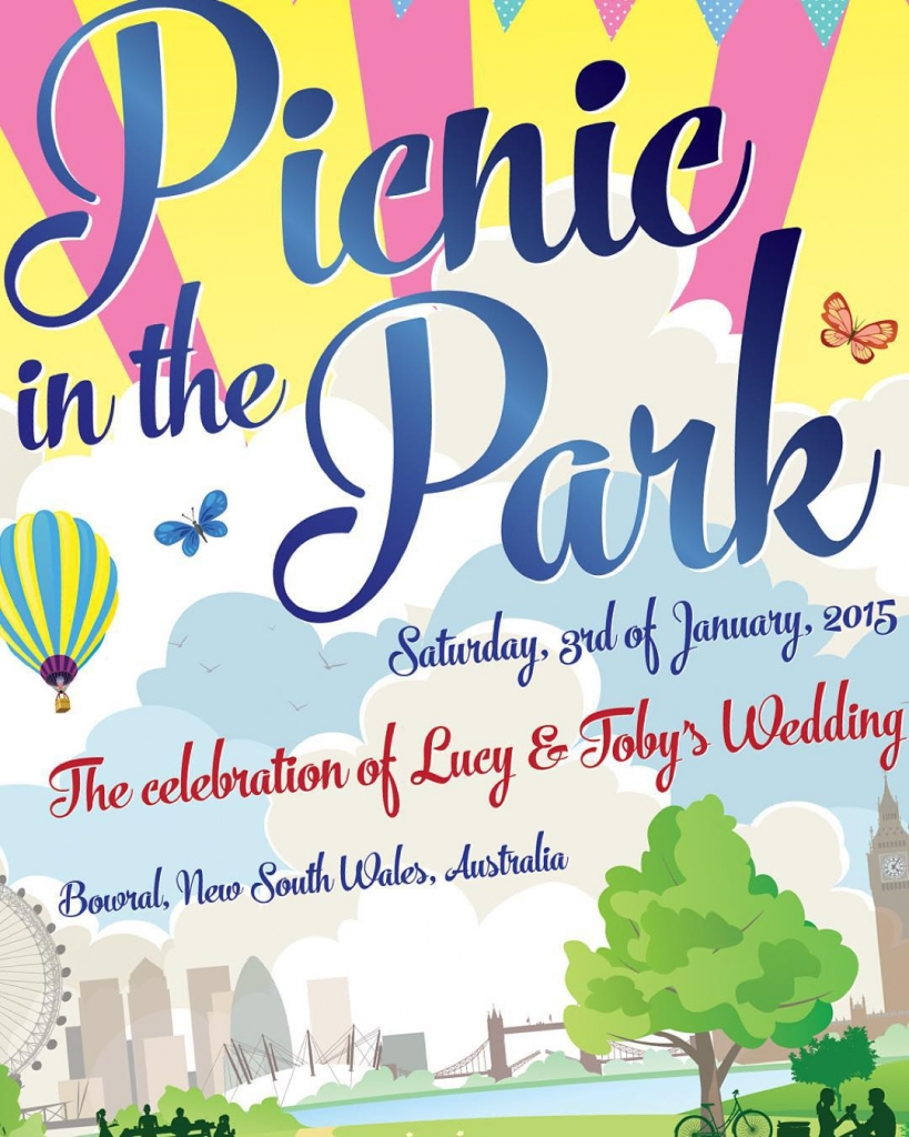 London picnicinthepark weddinginvites from wedfestco wedfest picnic weddinginvitation weddinginvitations festivalbridehellip