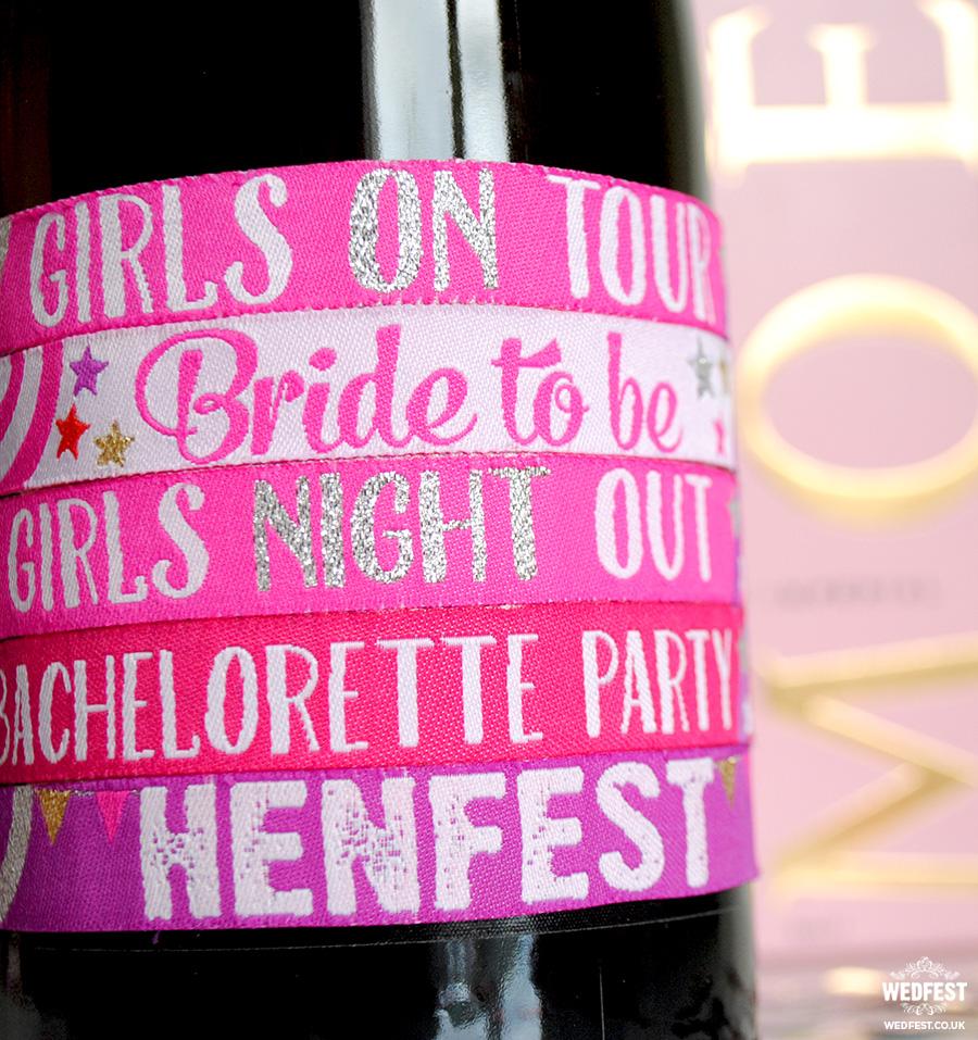 bachelorette party festival wristband