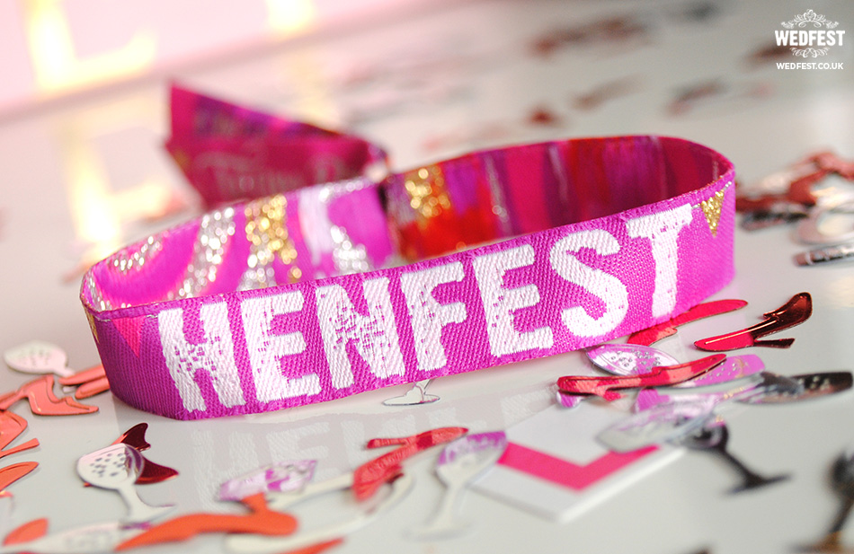 henfest festival hen party wristband