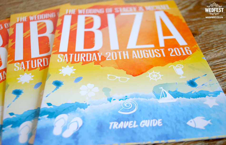 ibiza wedding invitation