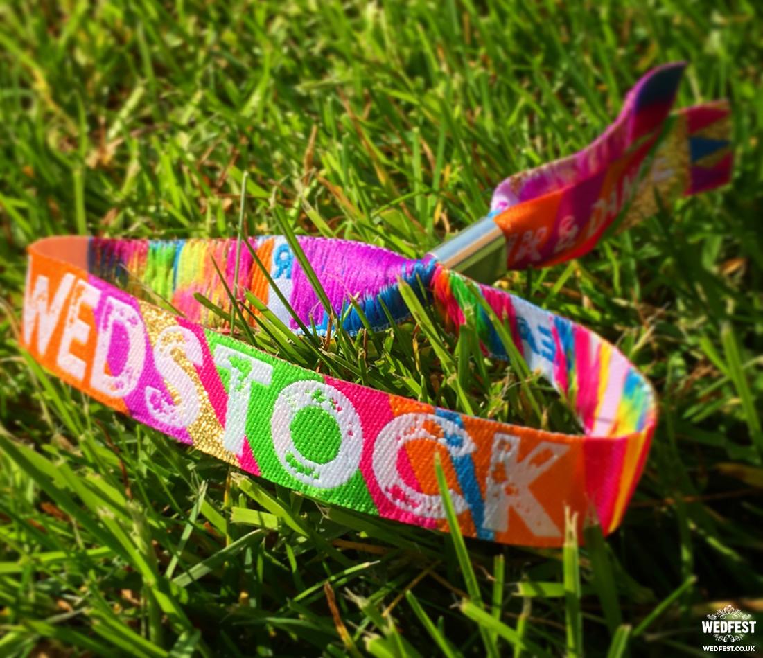 wedstock wristbands