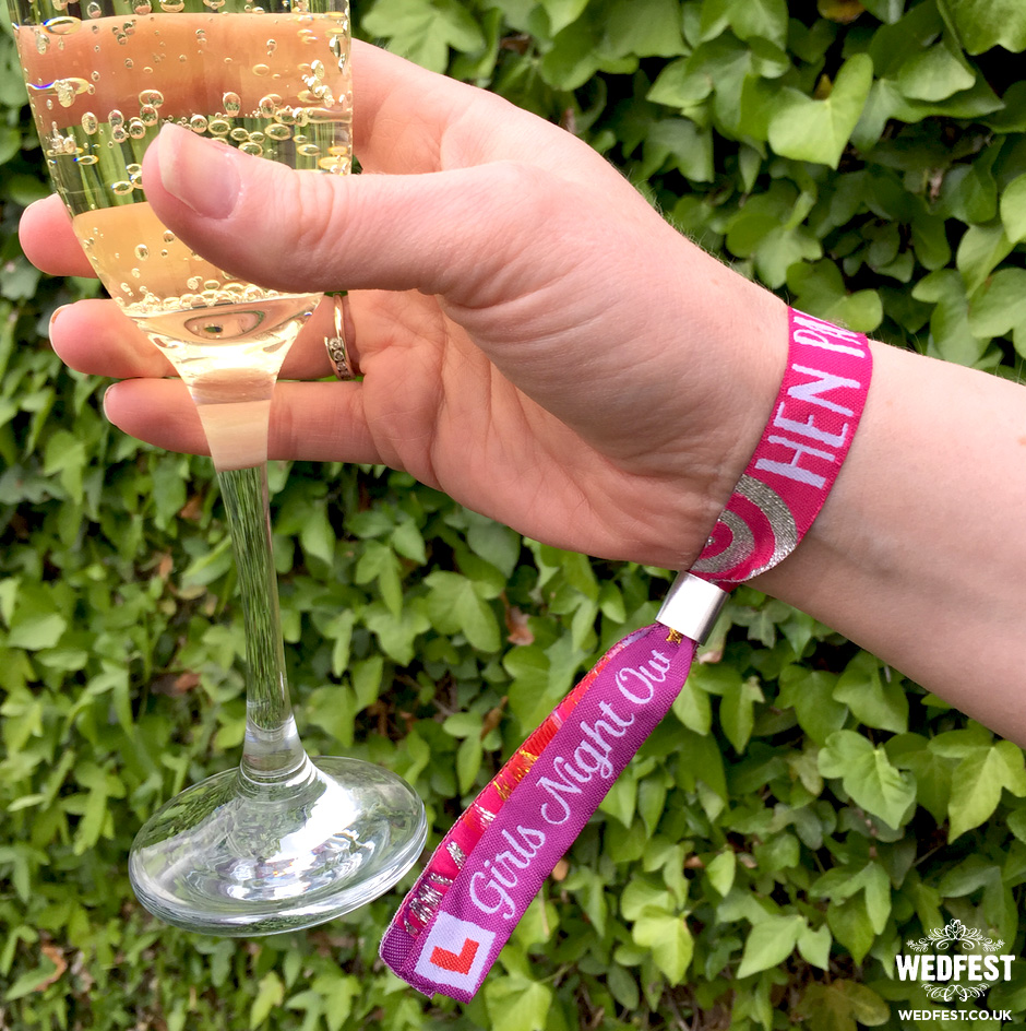 hen night wristband