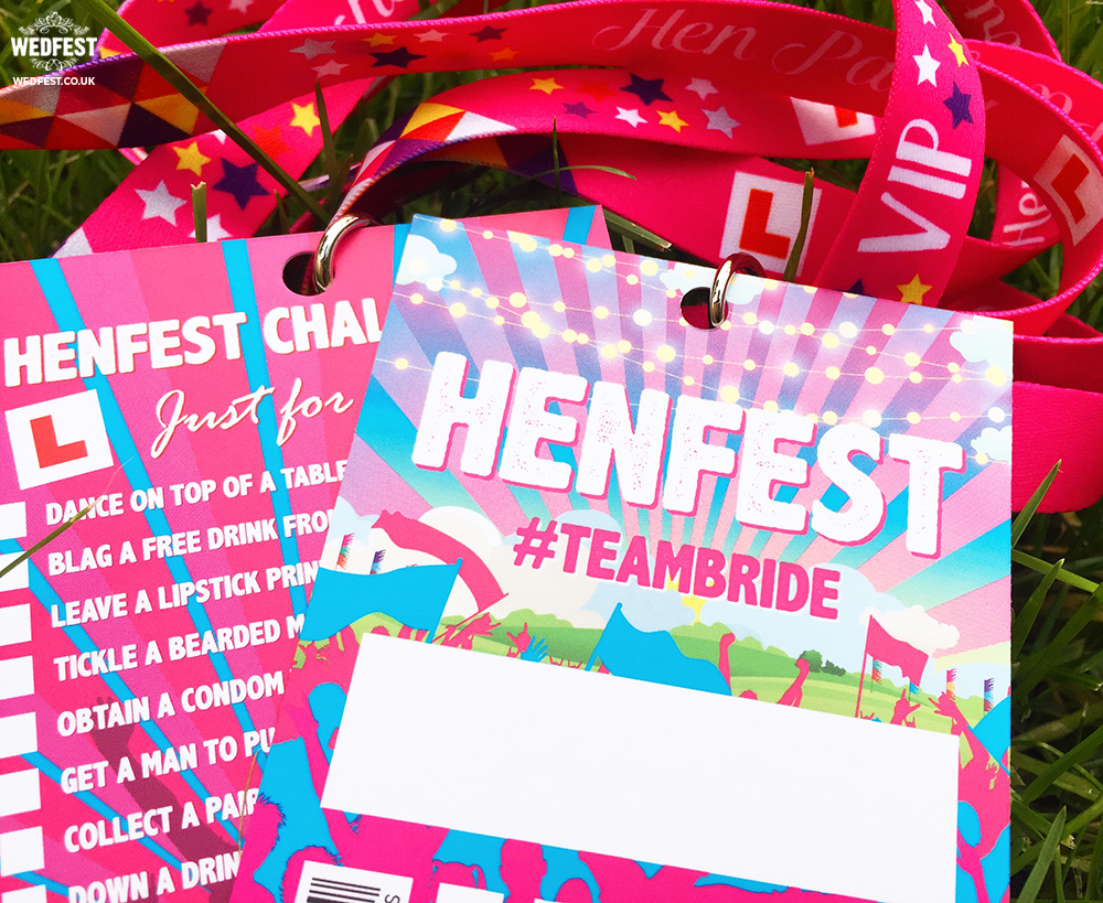 henfest vip hen party pass