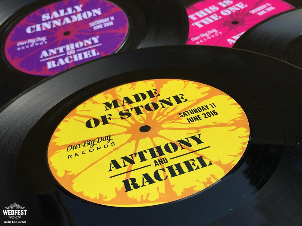 stone roses vinyl records wedding