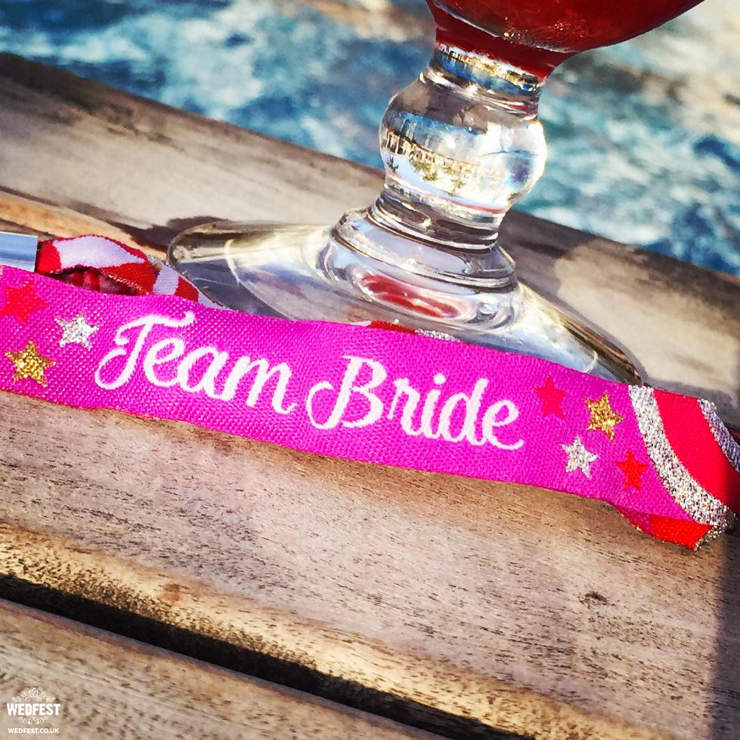 team bride accessories