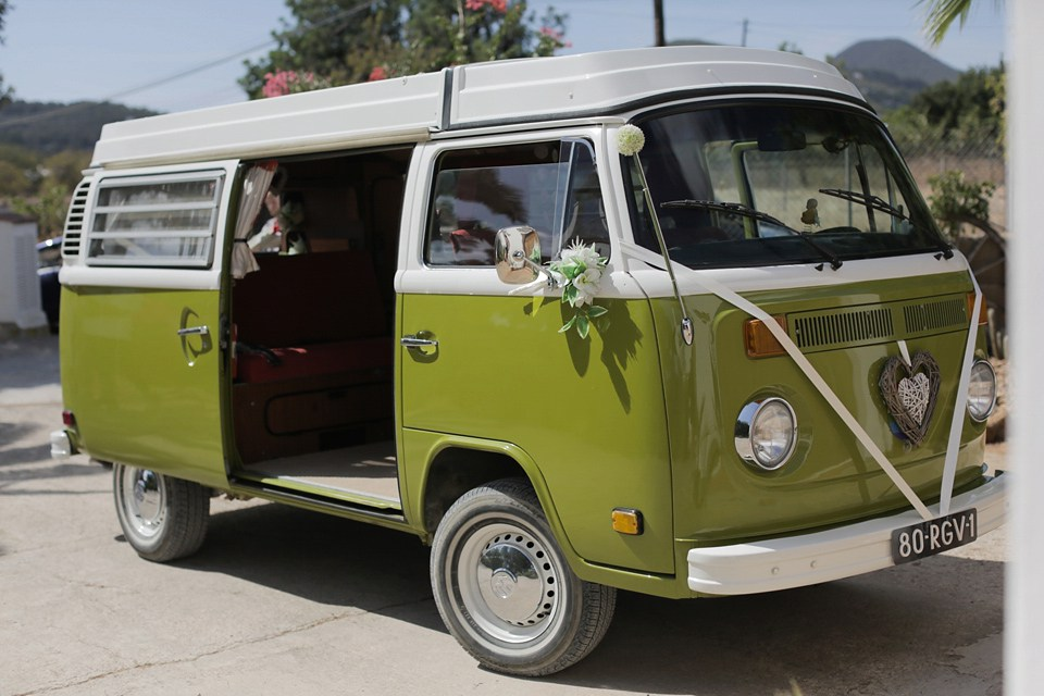 ibiza wedding campervan