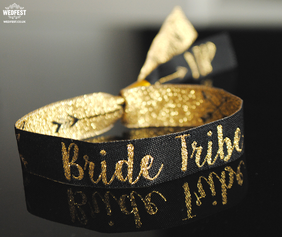 bride tribe hen party wristband