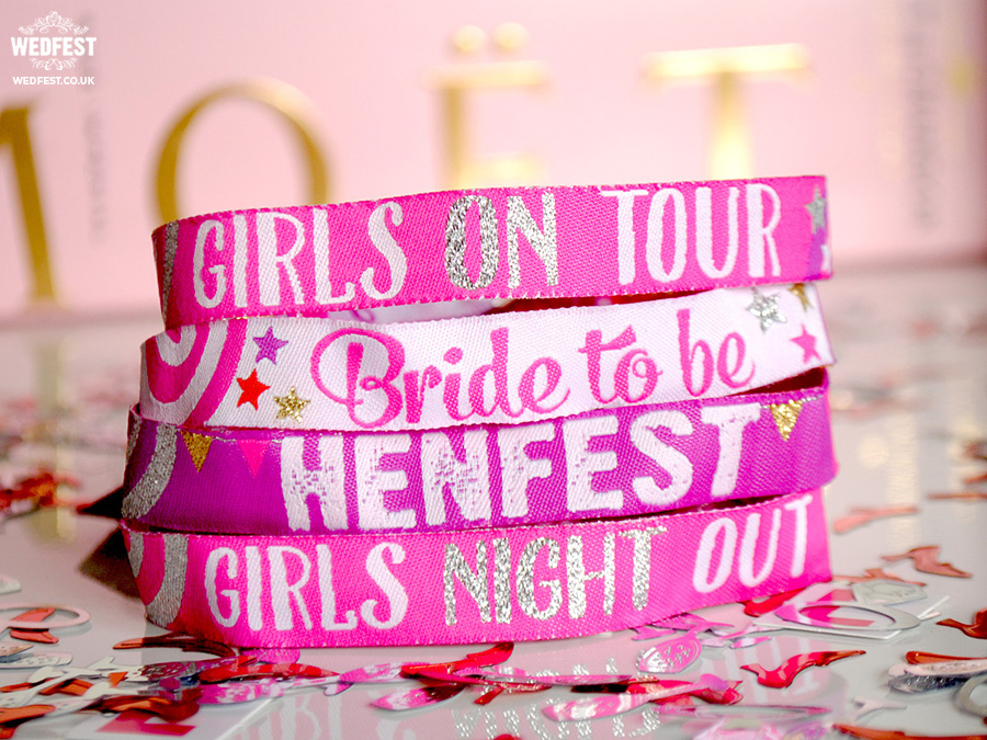 hens party wristbands