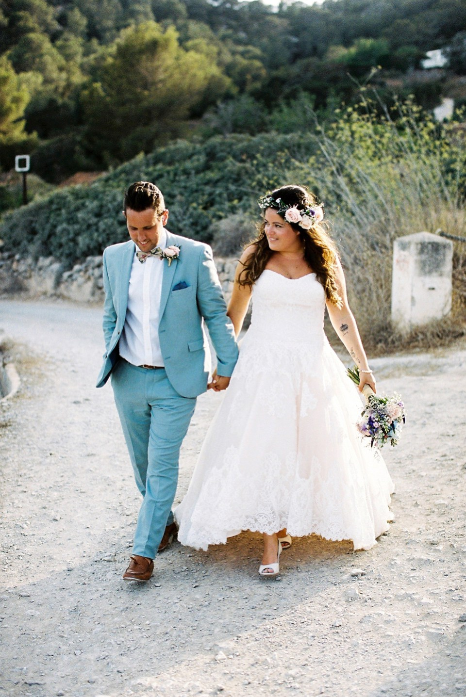 Laurie & Tim\'s Ibiza Wedding at Boutique Hostal Salinas | WEDFEST